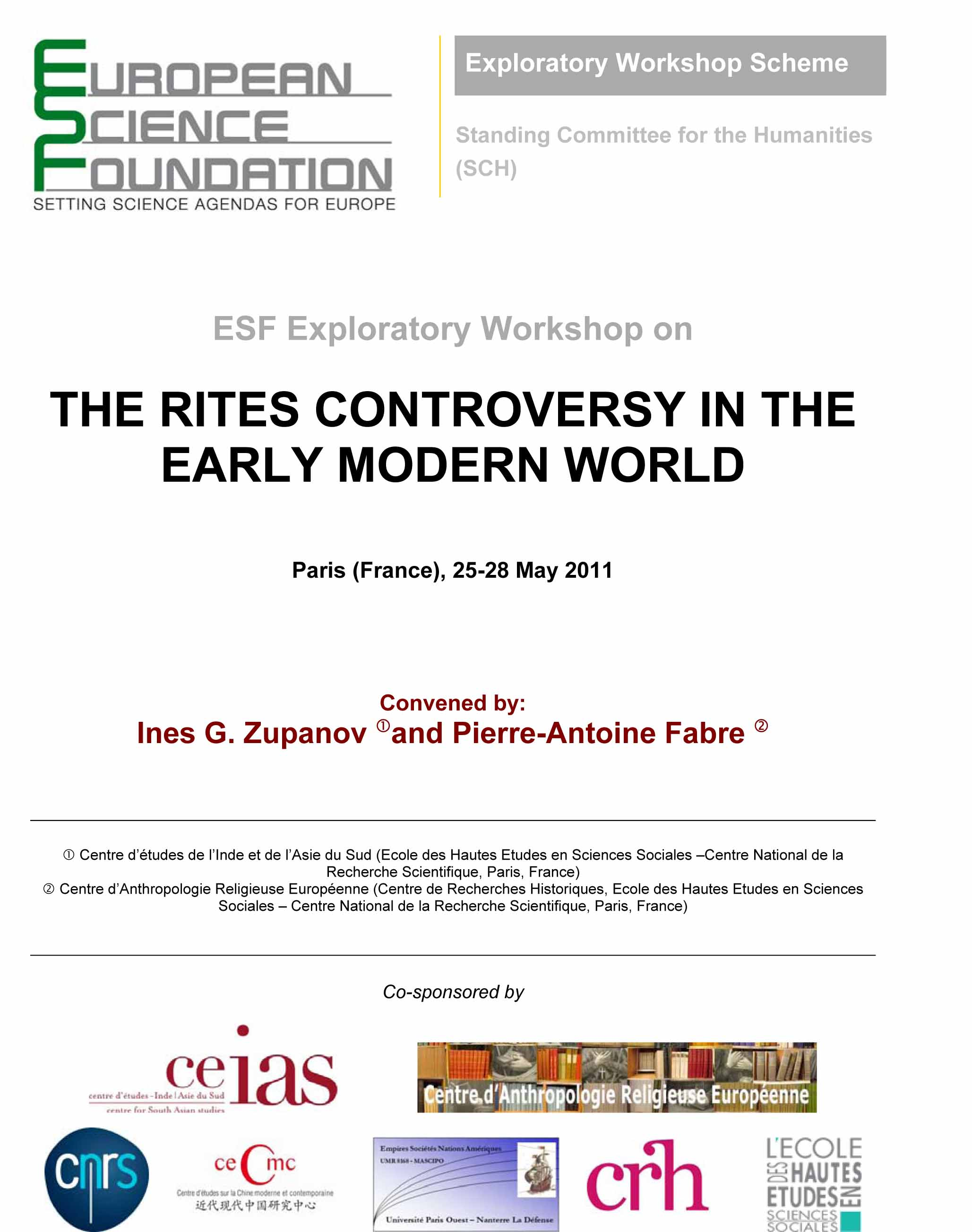 The Rites Controversy in the Early Modern World