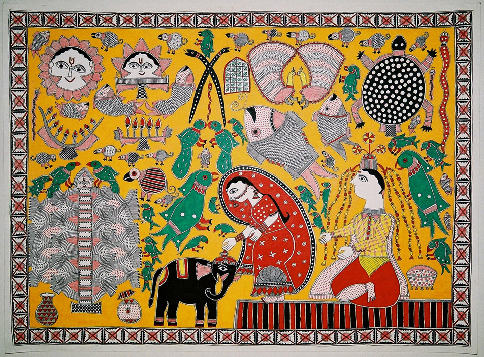Making Claims to Tradition: Poetics and Politics in the Works of Young Maithil Painters