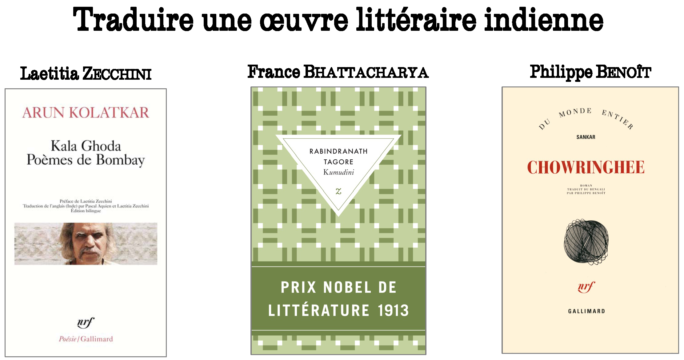 Rencontre litteraire traduction