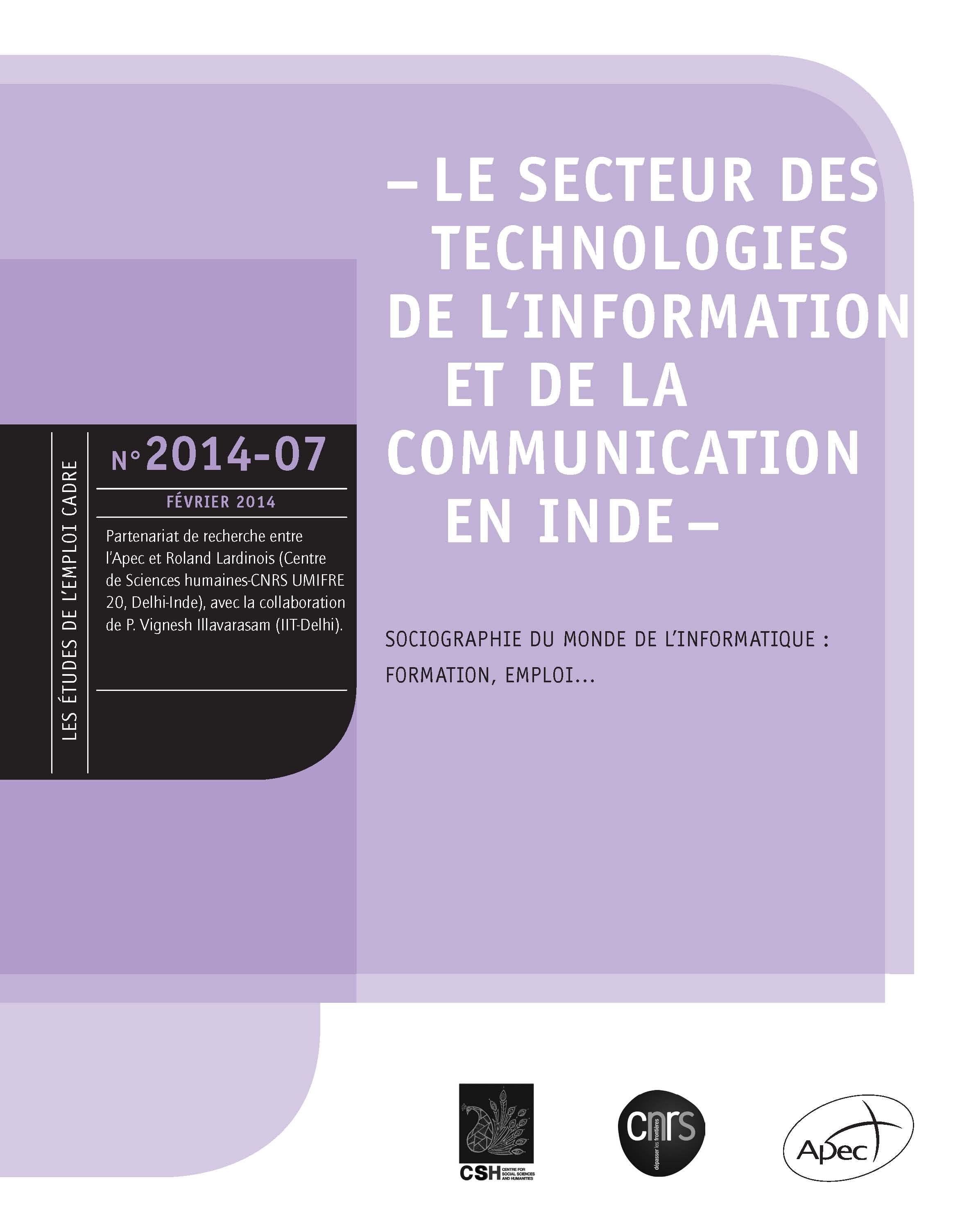 Le secteur des technologies de l'information et de la ...