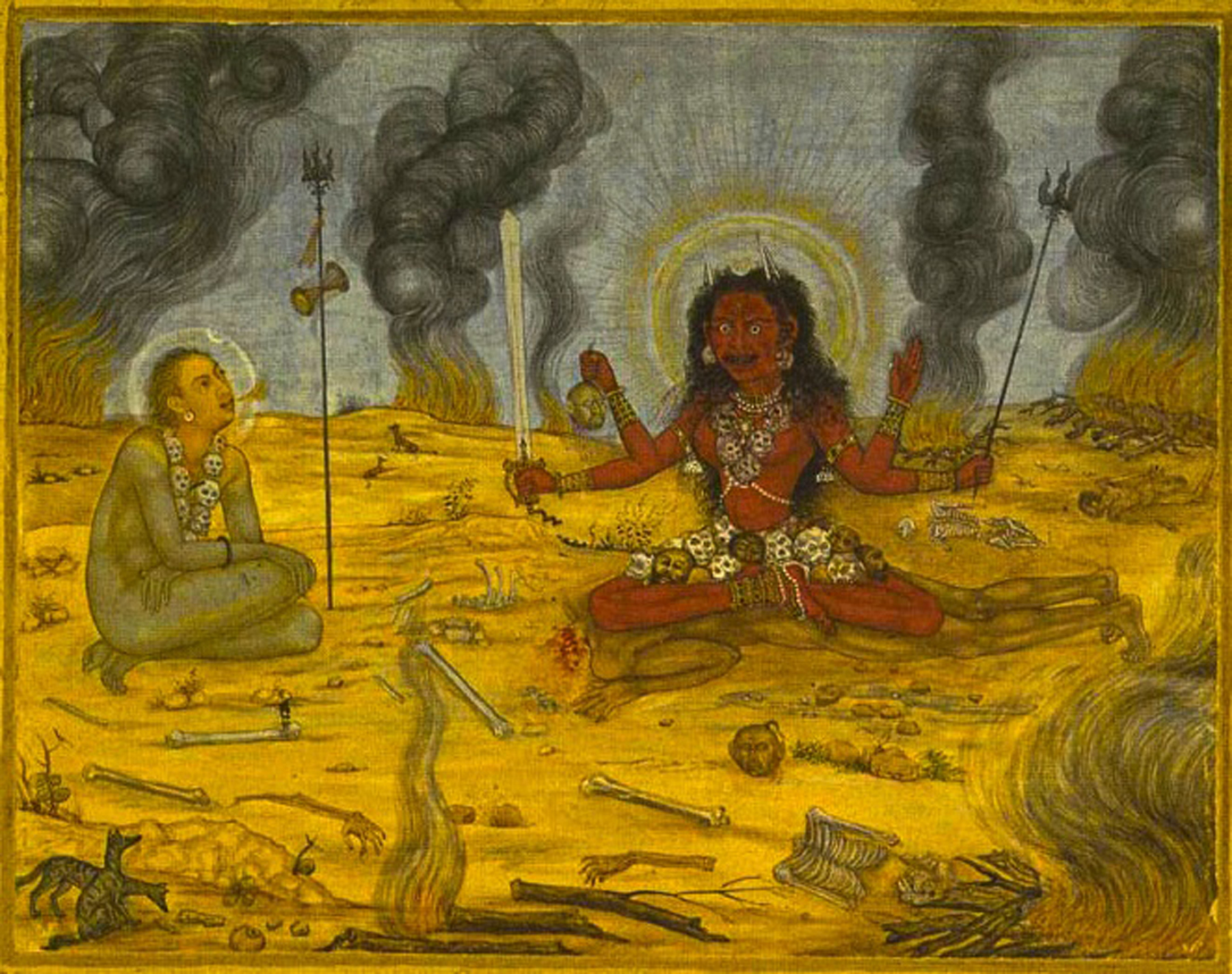 Jackals, Goddesses and Yogis: Cremation Ground Asceticism in South and East Asian Tantra
