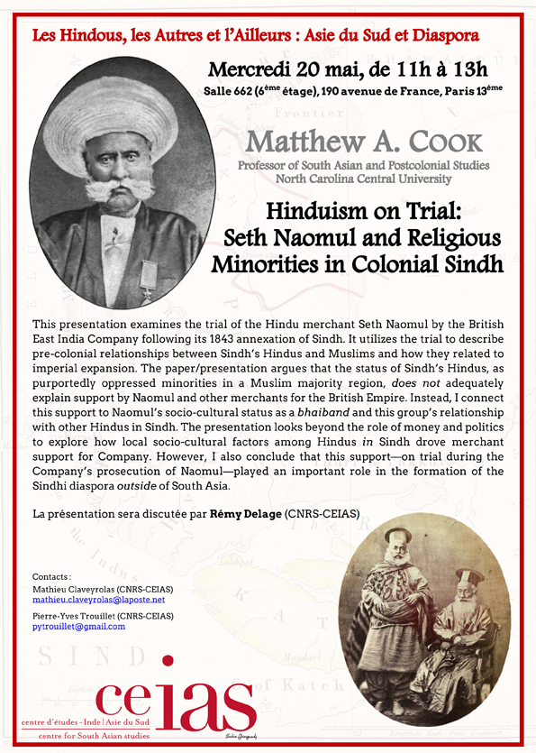 Hinduism on Trial: Seth Naomul and Religious Minorities in Colonial Sindh
