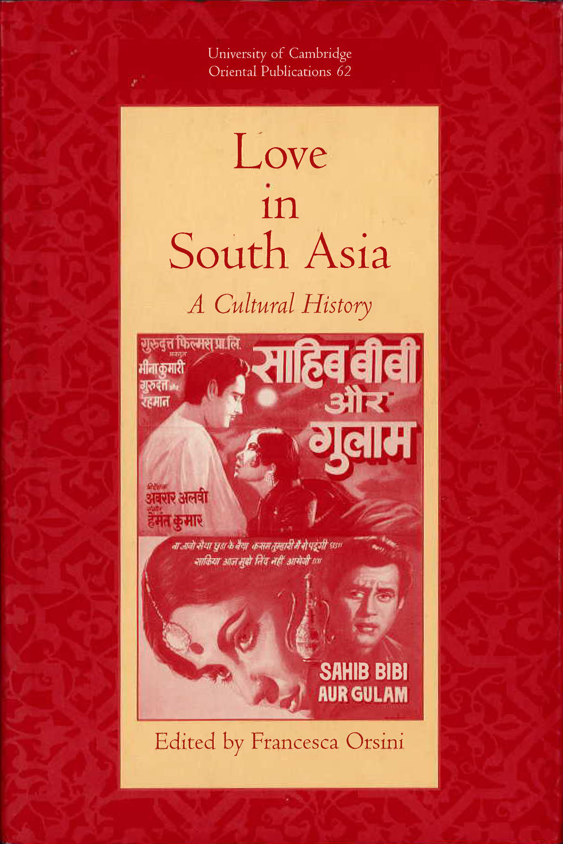Love in South Asia: A Cultural History