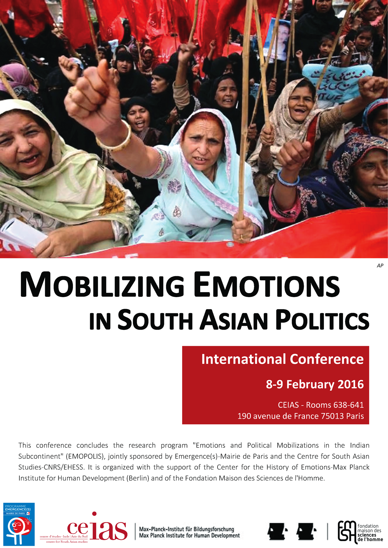 Mobilizing Emotions  in South Asian Politics