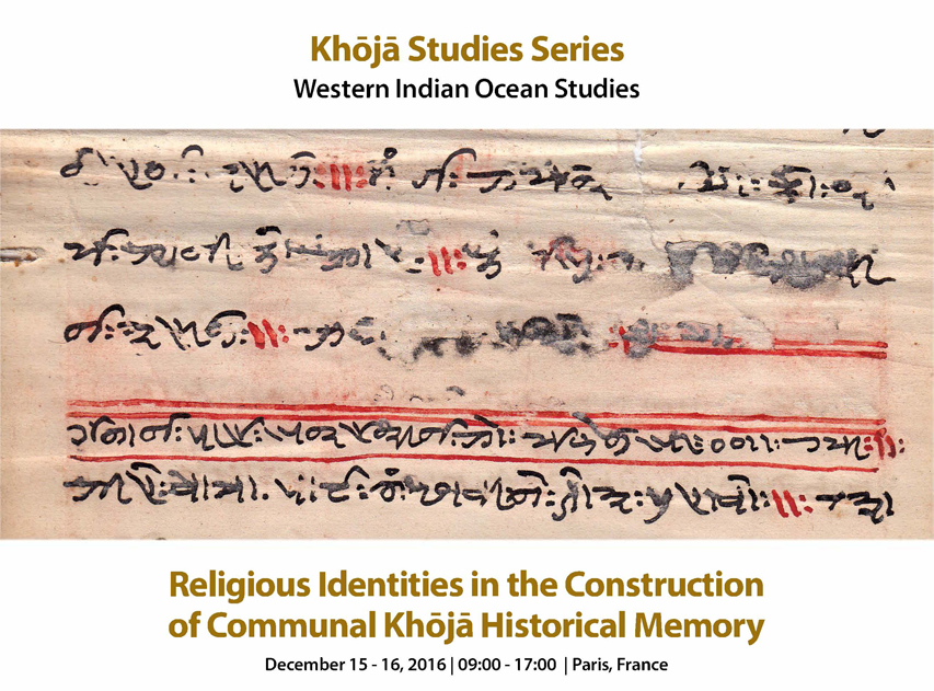 Religious Identities in the Construction of Communal Khoja Historical Memory
