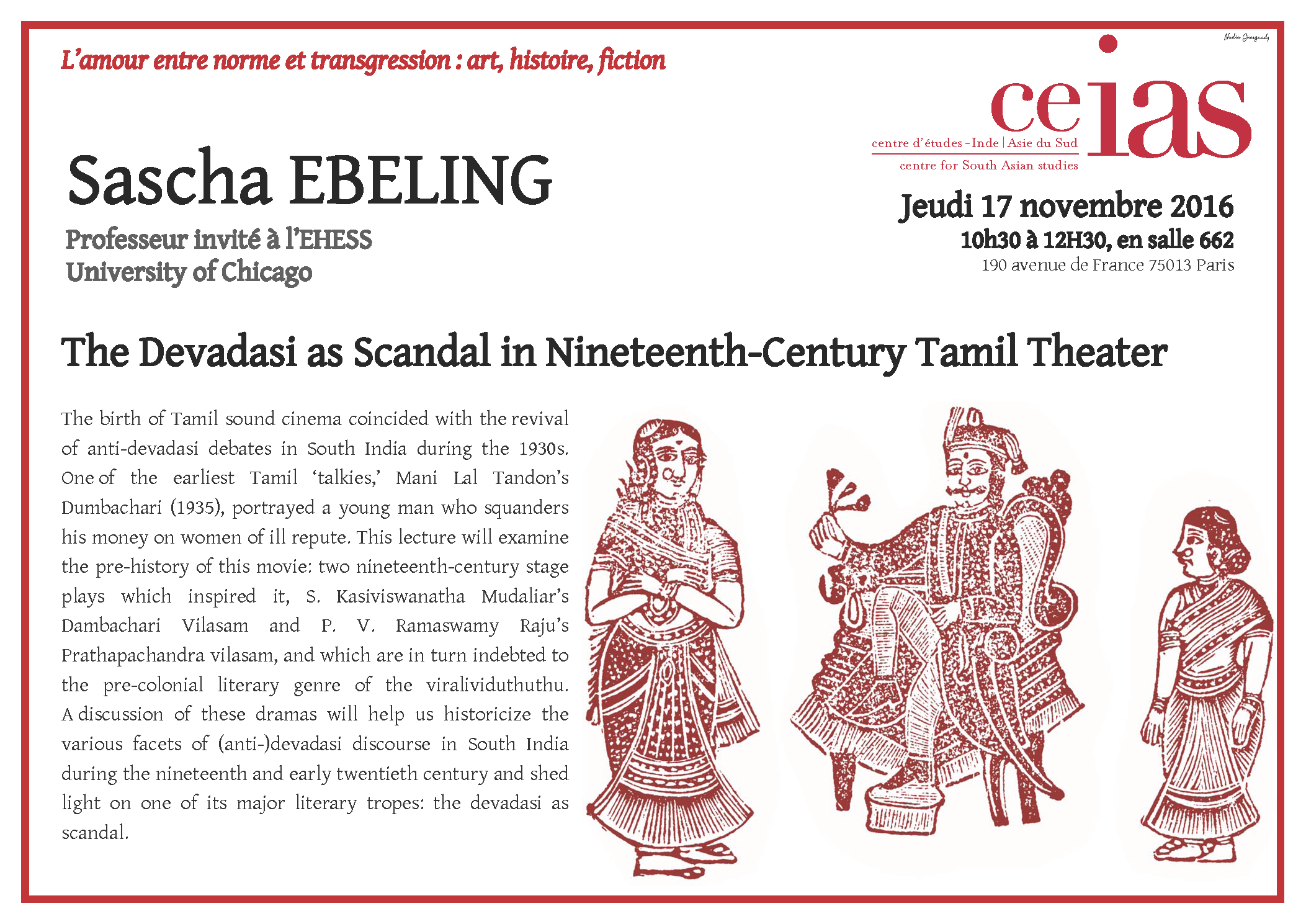 The Devadasi as Scandal in Nineteenth-Century Tamil Theater