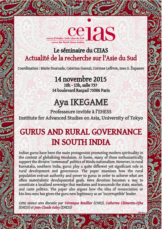 Gurus and Rural Governance in South India